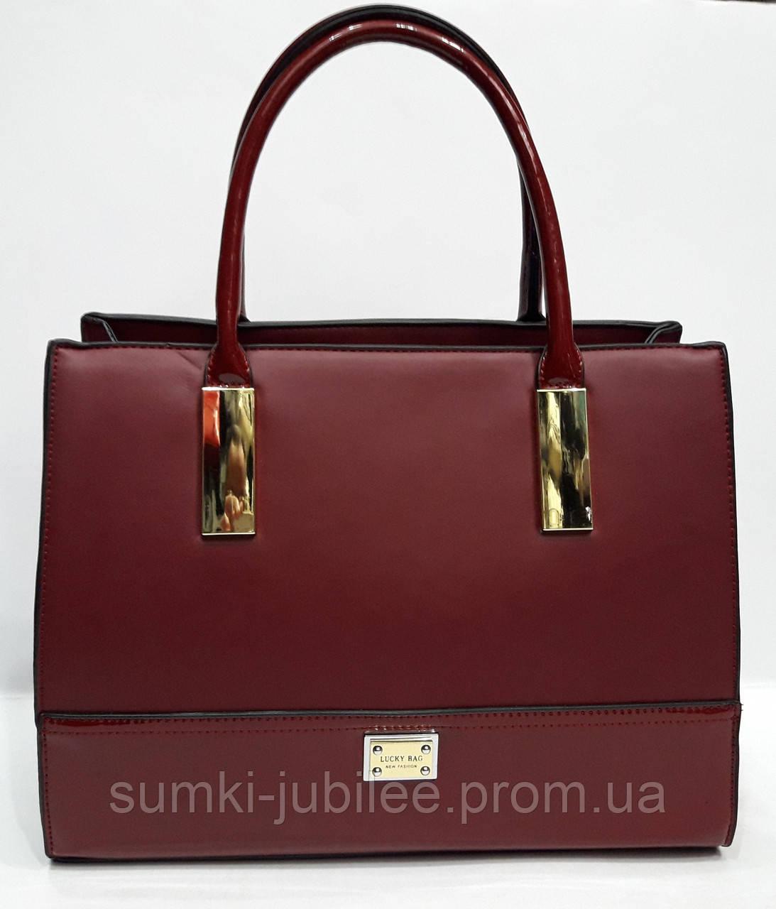 b96a725671d7 Женская сумка LUCKY BAG цвета в ассортименте - Интернет-магазин