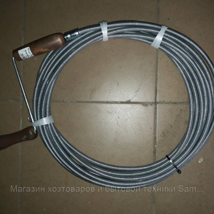 Трос для прочистки канализации оцинкованыйd 9мм /10 метровпроизводитель Польша