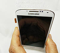 Дисплей, модуль з рамкою для Samsung Galaxy S4 i9505, i9500 white, фото 1