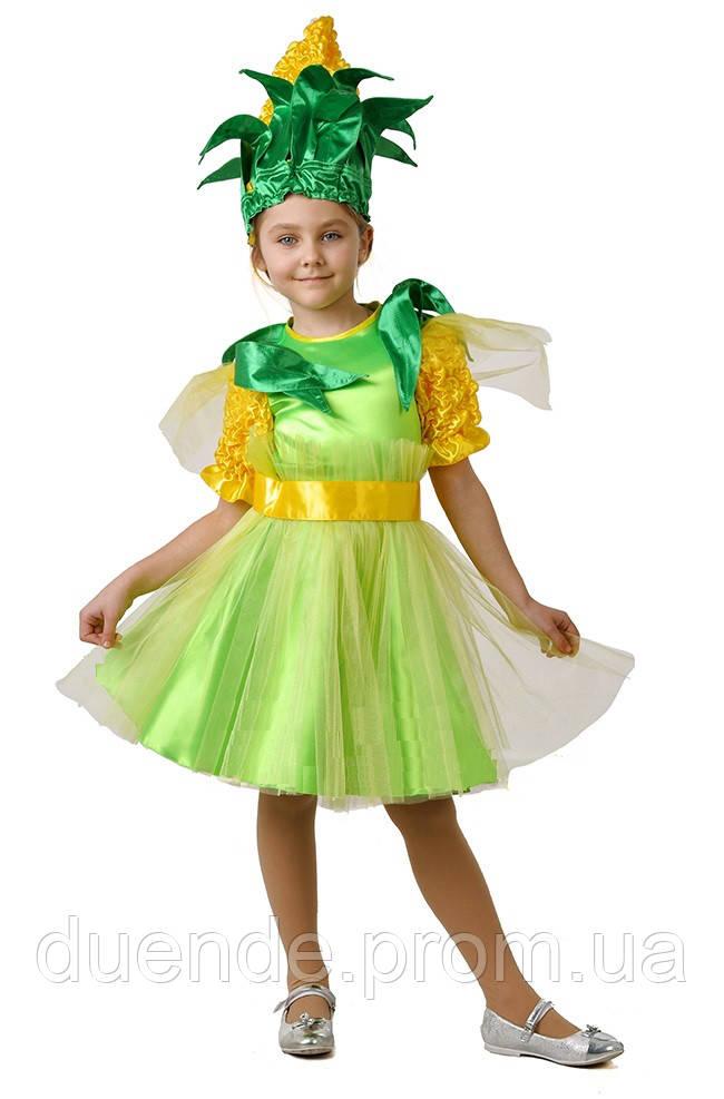 Кукурузка карнавальный костюм для девочки / BL - ДО13