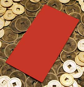 Червоні конверти (набір 6 штук)