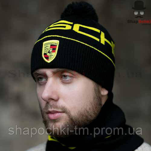 Комплект мужской (шапка+шарф) Gunner a08bb63179fb1