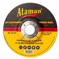 Круг зачистной (шлифовальный)  АТАМАN 1 14А 230 6,0 22,23