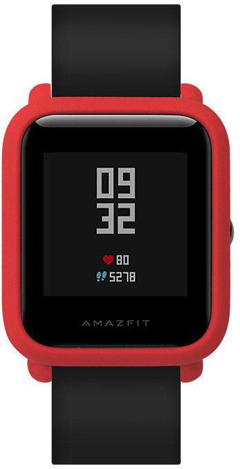 Чехол SIKAI для смарт-часов Xiaomi AMAZFIT Bip красный