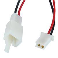 Разъём автомагнитолы 2-х контактный, с кабелем