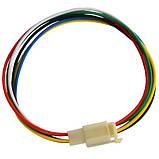 Разъём автомагнитолы 6-и контактный, с кабелем, фото 2