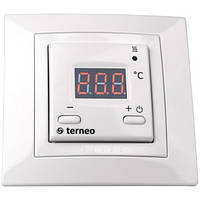 Терморегулятор для теплого пола terneo st unic (белый)