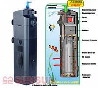 Внутренний фильтр с УФ-стерилизатором SUNSUN JUP-22 9w