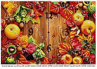 """Схема для вышивки бисером """"Часы """"Осенние"""" 3322"""