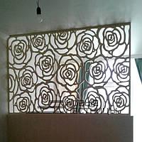 3Д панель розы