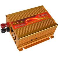"""Инвертор с 12V в 220V, 500W """"SOLAR"""" (SAA-500A + USB)"""