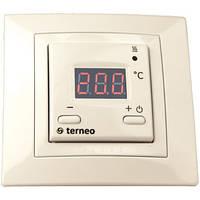 Терморегулятор для теплого пола terneo st unic (слоновая кость)