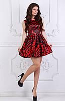Платье атласное женское ,платье красное женское ,шикарное красное платье ,платье мини атлас
