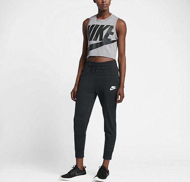 d6c3a2e6 Женские Брюки Nike Nsw Av15 Pant Knt 837462-010 (Оригинал) - Football Mall