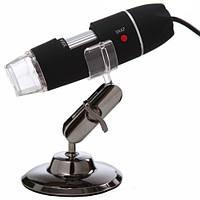 Портативный USB микроскоп цифровой 50-500 кратное увеличение