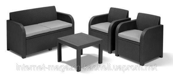 """Комплект """"Джорджия 3"""" (диван + 2 кресла +стол)"""