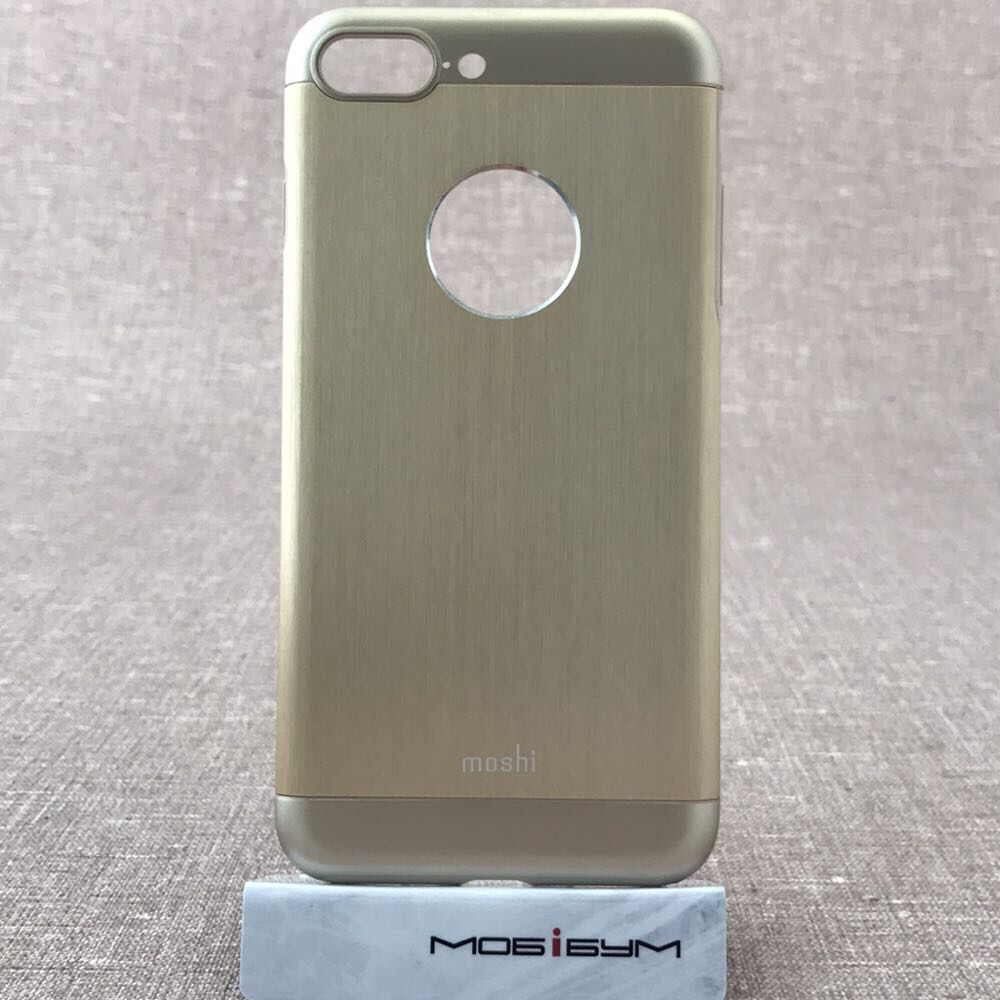 Чехол Moshi iGlaze Armour Metal iPhone 8 Plus/7 Plus satin gold (99MO090231) EAN/UPC: 4713057250453
