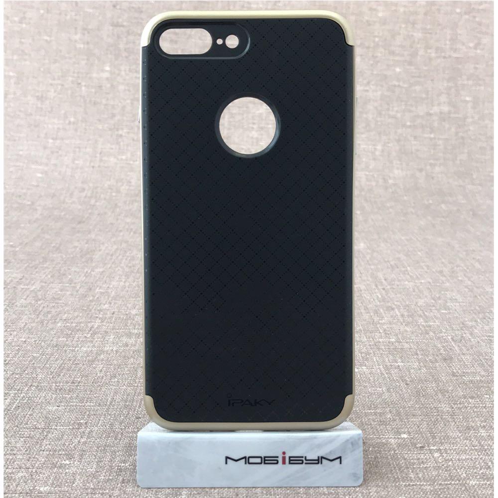 Чехол iPaky iPhone 8 Plus/7 Plus black/gold