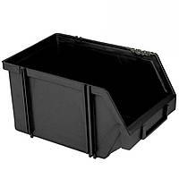 Составной органайзер-контейнер для инструментов 230х150х125 мм (черный)