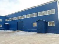 Проектирование и строительство  промышленных зданий ангар, склад, навесы, пристройки