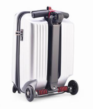 чемодан скутер 2 в 1