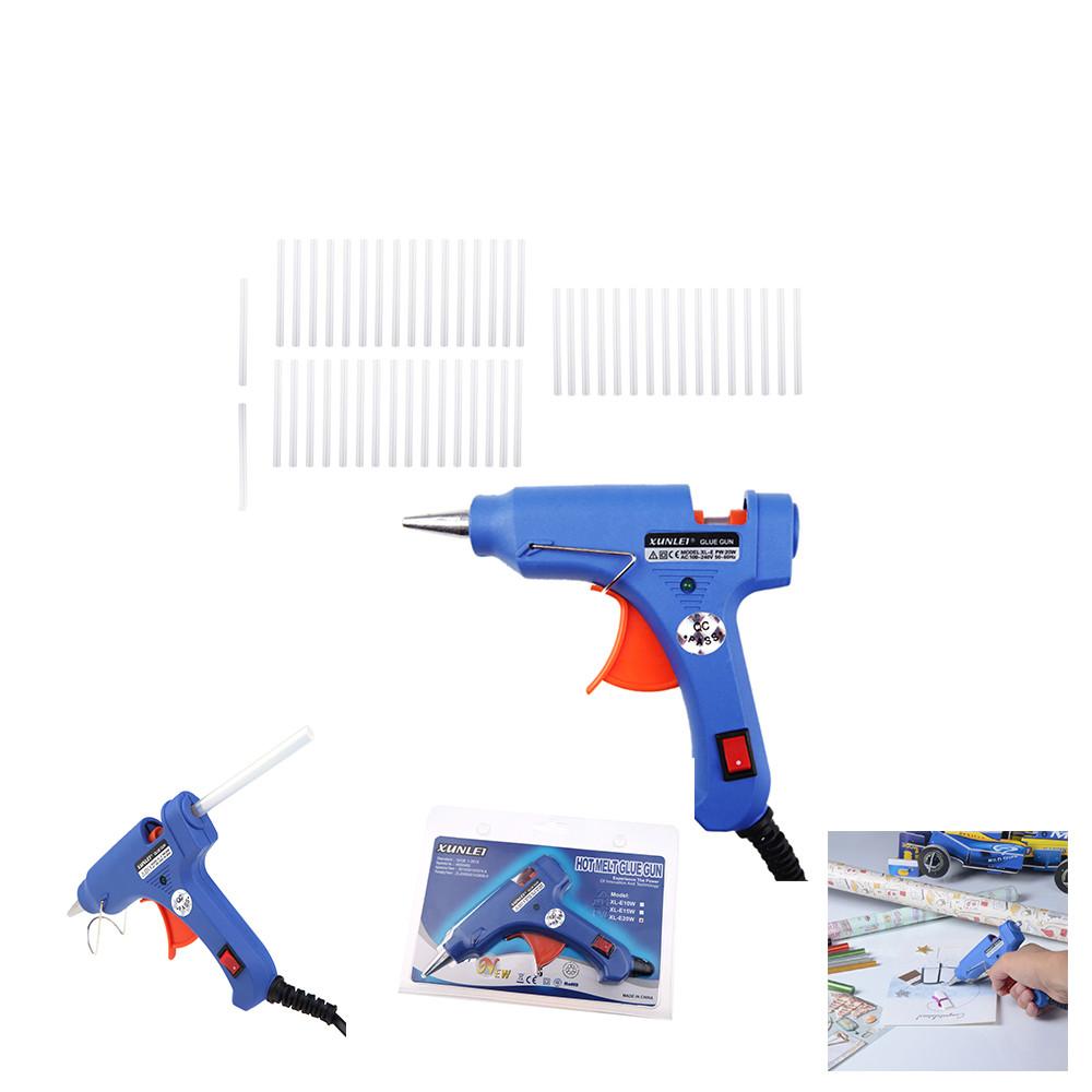 Пистолет клеевой XUNLEI XL-E20 20W