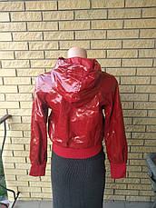 Куртка женская демисезонна лаковая  POP ELITE, фото 2
