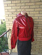 Куртка женская демисезонна лаковая  POP ELITE, фото 3