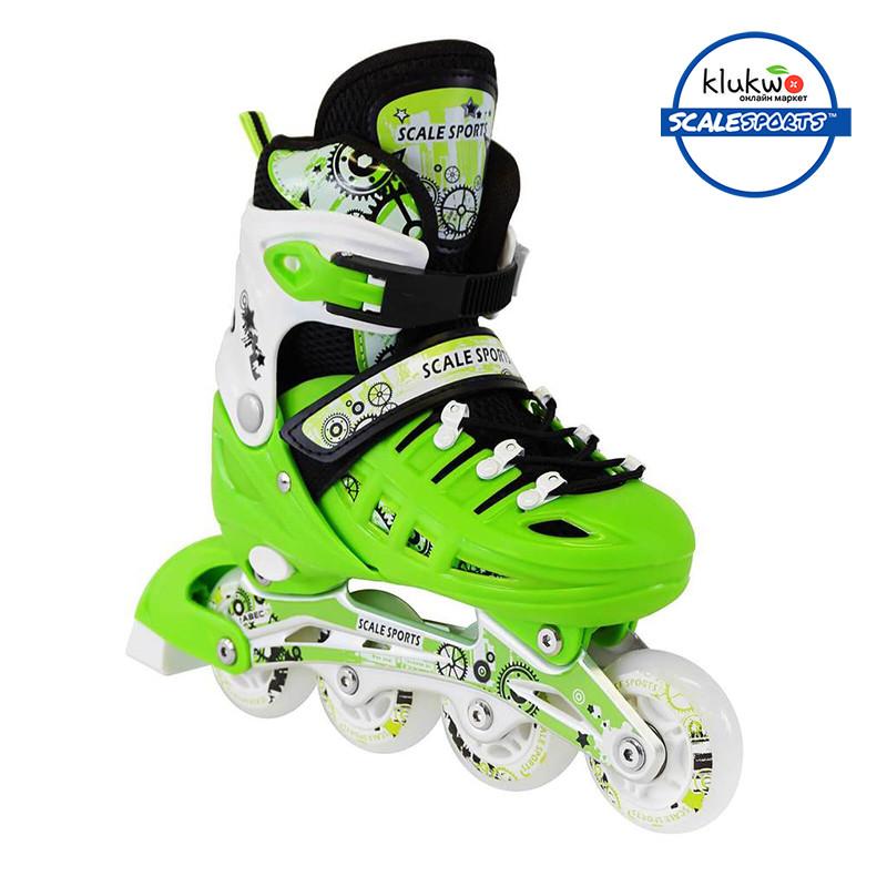 Ролики Scale Sports (34-37) Зеленые