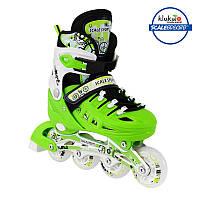 Ролики Scale Sports (34-37) Зеленые, фото 1