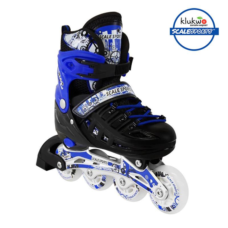 Ролики Scale Sports (34-37) Синие