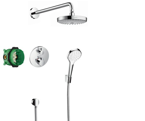 Душевая система Hansgrohe Croma Select S 27295000