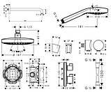 Душевая система Hansgrohe Croma Select S 27295000, фото 2