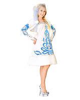 Снегурочка Узорная карнавальный костюм для девочки \ Pur - 166