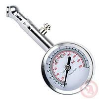 Измеритель давления в шинах стрелочный металлический корпус Intertool AT-1004