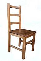 Стул твердый деревянный БАРНИ+ из дерева бук для гостиной и кухни дома, кафе, бара, ресторана