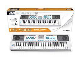 Детский синтезатор Пианино HS4968B 49 клавиш