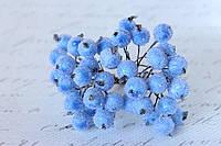 Сахарные ягодки 38-40 ягод/уп. голубого цвета