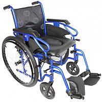Инвалидная коляска MILLENIUM III  с санитарным устройством OSD-STB3-**/STC3-**+WC