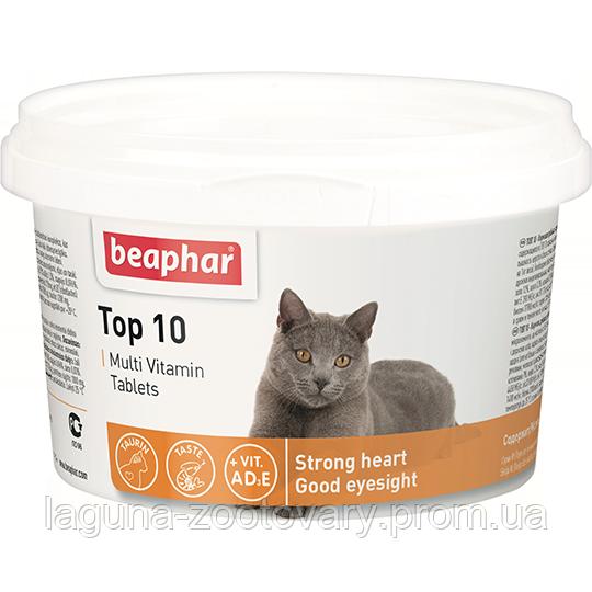 ТОП 10 Витамины для кошек и котят,  180табл. Бифар