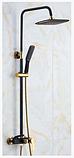 Стойка со смесителем в ванную комнату черная 5-024, фото 2