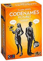 """Настольная игра """"Кодовые имена. Картинки (Codenames: Pictures)"""" GaGa Games, фото 1"""