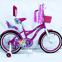 """Дитячий велосипед , """"Flora-18"""" - 18 дюймів"""