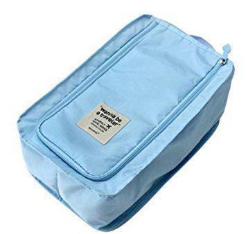 Органайзер - сумочка для обуви. Голубой, фото 2