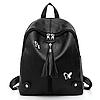 Стильный женский рюкзак черный, фото 2