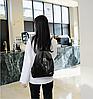 Стильный женский рюкзак черный, фото 4