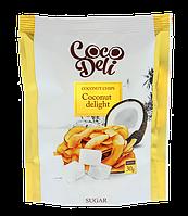 Чипсы кокосовые сладкие,  ТМ Coco Deli 30 г