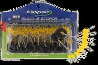 Стопор Kalipso силиконовый №SS(1*6*50шт) NEW 2017