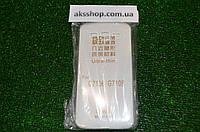 Прозрачный тонкий силиконовый чехол для Samsung G7106 G7102 Grand 2