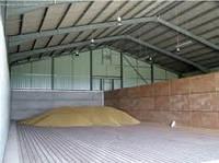Строительство зернохранилищ напольный